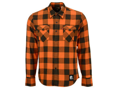 Cleveland Browns NFL Plaid Barstow Western Top