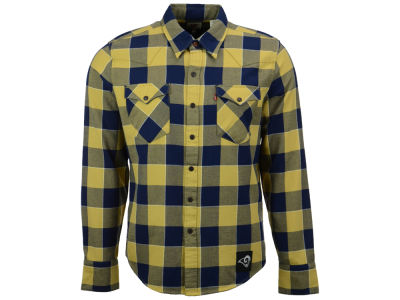 Los Angeles Rams NFL Plaid Barstow Western Top