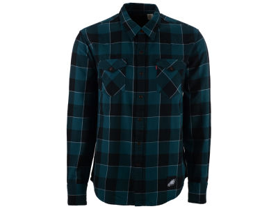Philadelphia Eagles NFL Plaid Barstow Western Top