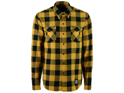 Pittsburgh Steelers NFL Plaid Barstow Western Top