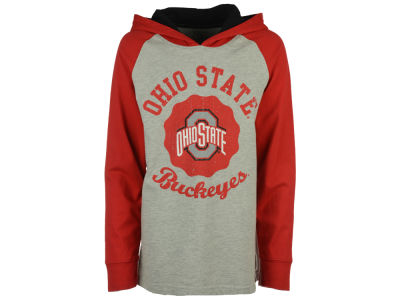Ohio State Buckeyes NCAA Youth Hooded Raglan Shirt