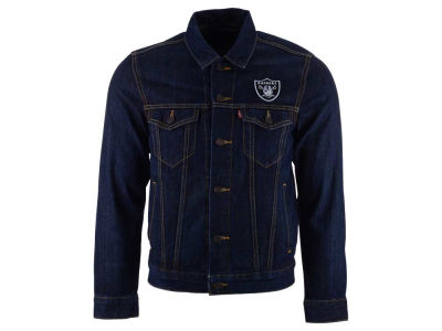 Oakland Raiders NFL Trucker Jacket