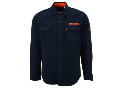Chicago Bears NFL Men's Overshirt Button Down Shirt