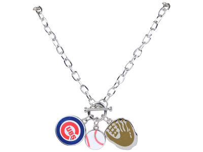 Chicago Cubs MLB Fanfare Charm Necklace