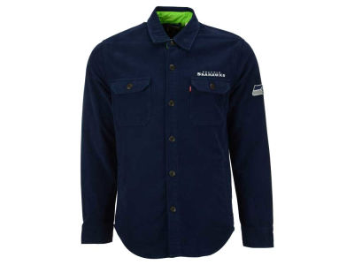 Seattle Seahawks NFL Men's Overshirt Button Down Shirt