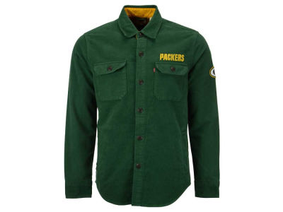 Green Bay Packers NFL Men's Overshirt Button Down Shirt