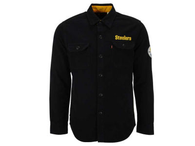 Pittsburgh Steelers NFL Men's Overshirt Button Down Shirt