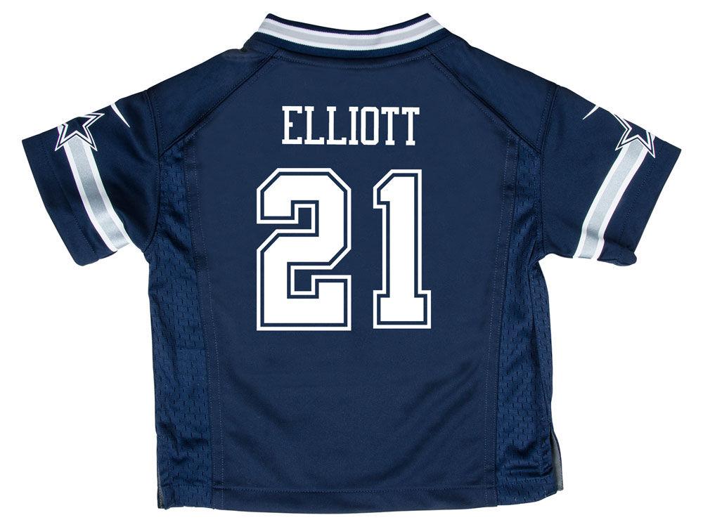 Dallas Cowboys Ezekiel Elliott Nike NFL Toddler Game Jersey  f53dead4b
