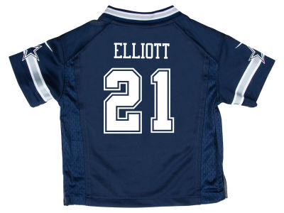 Dallas Cowboys Ezekiel Elliott NFL Kids Game Jersey