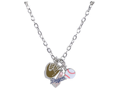 Los Angeles Dodgers MLB Fanfare Charm Necklace