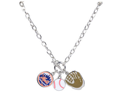 New York Mets MLB Fanfare Charm Necklace