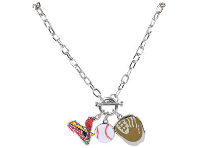 St. Louis Cardinals MLB Fanfare Charm Necklace
