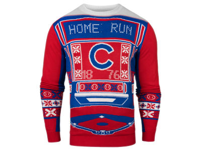 Chicago Cubs MLB Men's Light Up Ugly Sweater