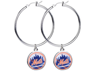 New York Mets MLB Hoopla Earrings