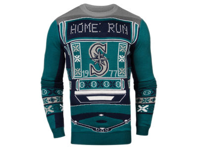 Seattle Mariners MLB Men's Light Up Ugly Sweater