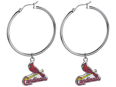 St. Louis Cardinals MLB Hoopla Earrings