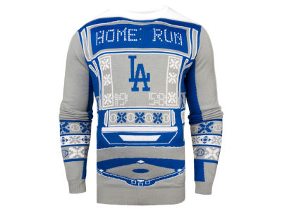 Los Angeles Dodgers MLB Men's Light Up Ugly Sweater