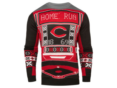 Cincinnati Reds MLB Men's Light Up Ugly Sweater