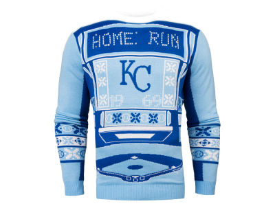 Kansas City Royals MLB Men's Light Up Ugly Sweater