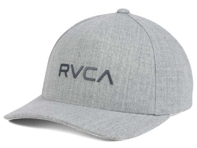 RVCA Curved Bill Snapback Cap