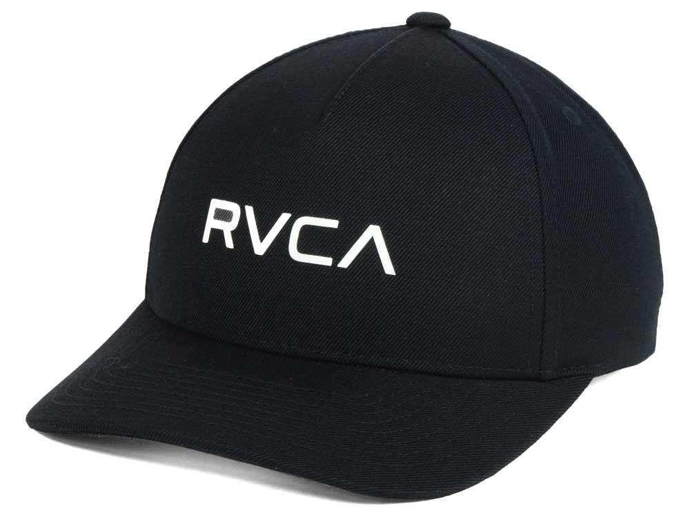 RVCA Curved Bill Snapback Cap  7f342c31924