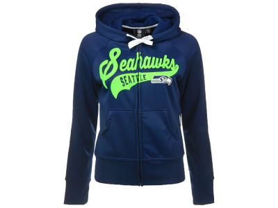 Seattle Seahawks GIII NFL Women's Game Day Full Zip Hoodie
