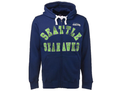 Seattle Seahawks NFL Men's Varsity Full Zip Hoodie