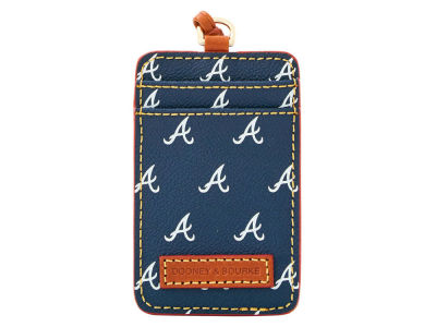 Atlanta Braves Dooney & Bourke ID Lanyard