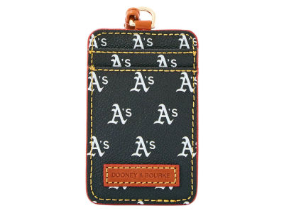 Oakland Athletics Dooney & Bourke ID Lanyard