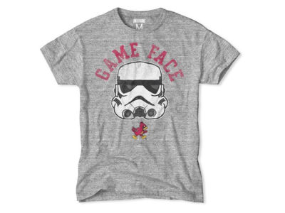 Iowa State Cyclones NCAA Men's Star Wars Game Face T-Shirt