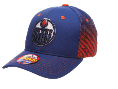 Edmonton Oilers Zephyr NHL Youth Jolt Adjustable Cap
