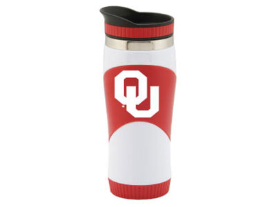 Oklahoma Sooners School Spirit Travel Tumbler