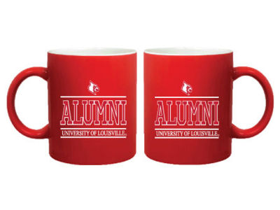 Louisville Cardinals 11oz Colored Alumni Mug