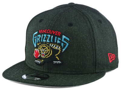 Vancouver Grizzlies New Era NBA Heather Crisp 9FIFTY Snapback Cap