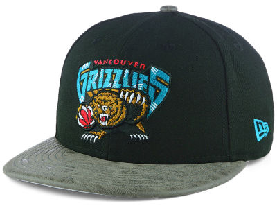Vancouver Grizzlies New Era NBA Rustic Vize 9FIFTY Snapback Cap