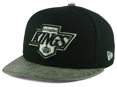 Los Angeles Kings New Era NHL Vintage Rustic Vize 9FIFTY Snapback Cap