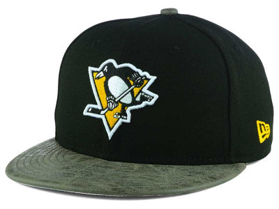 Pittsburgh Penguins New Era NHL Rustic Vize 9FIFTY Snapback Cap