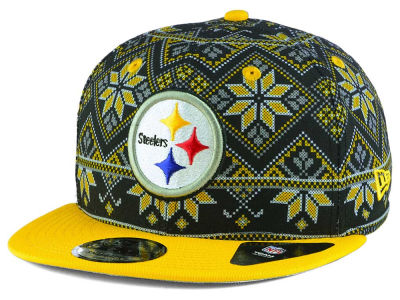 Pittsburgh Steelers New Era NFL Fresh Prints Sweater 9FIFTY Snapback Cap