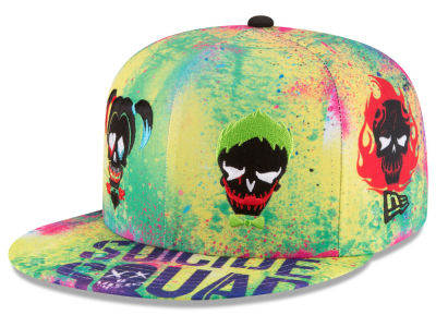 DC Comics Suicide Squad All Over 59FIFTY Cap