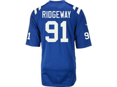 Indianapolis Colts Hassan Ridgeway Nike NFL Men's Game Jersey