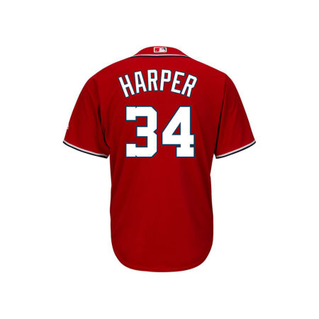 Washington Nationals Bryce Harper MLB Youth Player Replica Cool Base Jersey