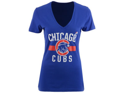 Chicago Cubs Majestic MLB Women's One Game T-Shirt