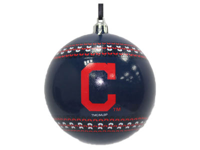 "Cleveland Indians 3"" Ugly Sweater Ornament"