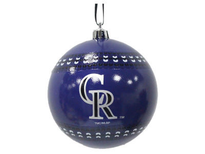 "Colorado Rockies 3"" Ugly Sweater Ornament"