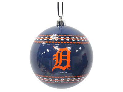 "Detroit Tigers 3"" Ugly Sweater Ornament"