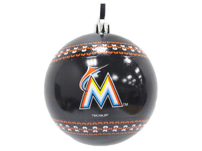 "Miami Marlins 3"" Ugly Sweater Ornament"