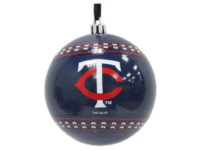 "Minnesota Twins 3"" Ugly Sweater Ornament"