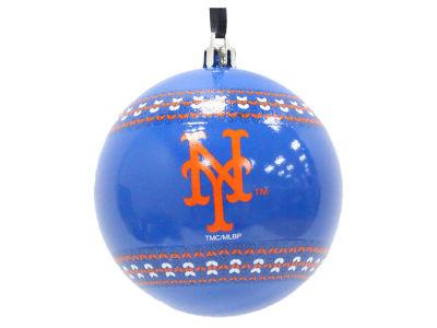 "New York Mets 3"" Ugly Sweater Ornament"
