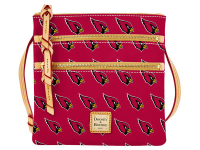 Arizona Cardinals Dooney & Bourke Triple Zip Crossbody Bag