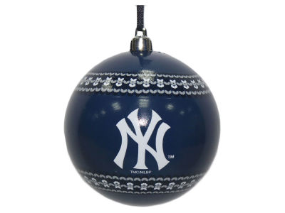 "New York Yankees 3"" Ugly Sweater Ornament"